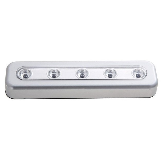 3-Pack 5-LED One Touch Stick-on Anywhere Touch Tap Night Light