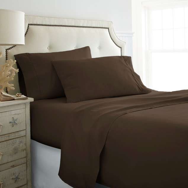 Olive & Twill Extra Soft Wrinkle-Free Microfiber 4 Pc Sheet Set