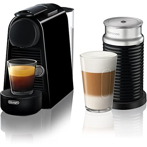Breville-Nespresso USA BEC250BLK1AUC1 Nespresso Essenza Mini Expresso Machine, One Size, Piano Black