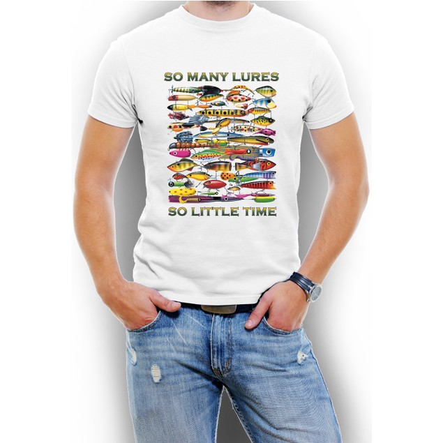 """So Many Lures...So Little Time"" T-Shirt"