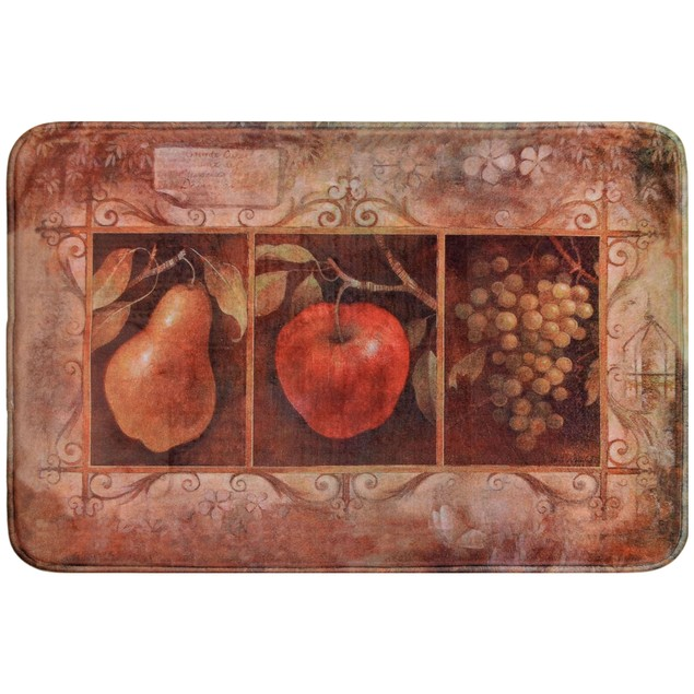 "Daisy Fuentes Relaxed Chef 18"" X 30"" Anti-Fatigue Kitchen Mat"