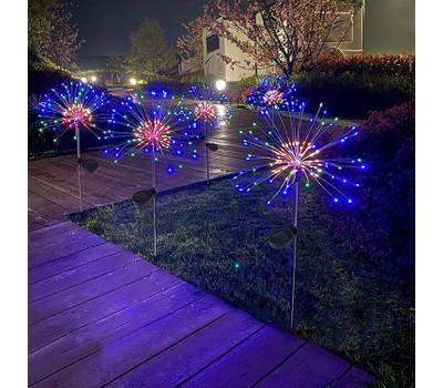 120 LED Solar Firework Starburst Outdoor Lights Was: $62.99 Now: $20.99.