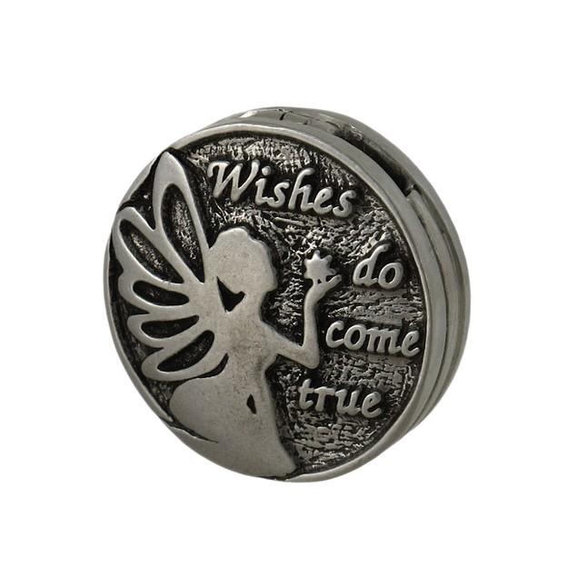 Lead Free Pewter Reversible Fairy Wish Locket Individual Pendants