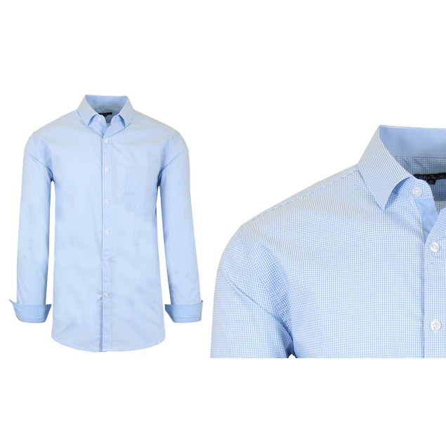 Mens Quick Dry Performance Stretch Dress Shirts