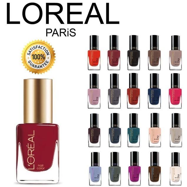 L'Oreal Paris Nail Polish Set (Packs of 5, 10 or 20)