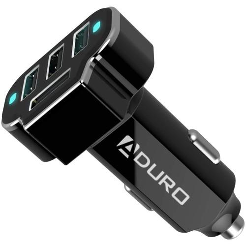 Aduro PowerUp 4-Port USB Car Charger