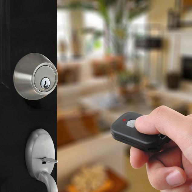 MiLocks TFK-02SN Digital Deadbolt Door Lock - Keyless Entry Remote Control
