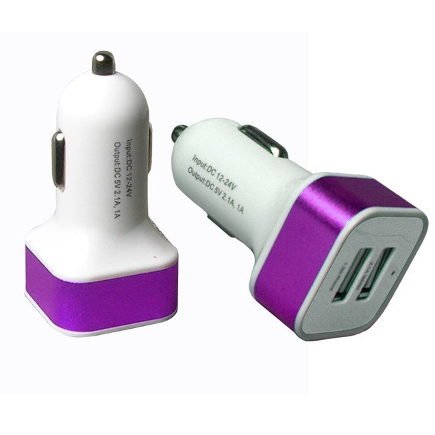 3-Port USB Car Charger
