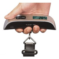 Deals on Portable 110lb Digital Luggage Scale with LCD Display