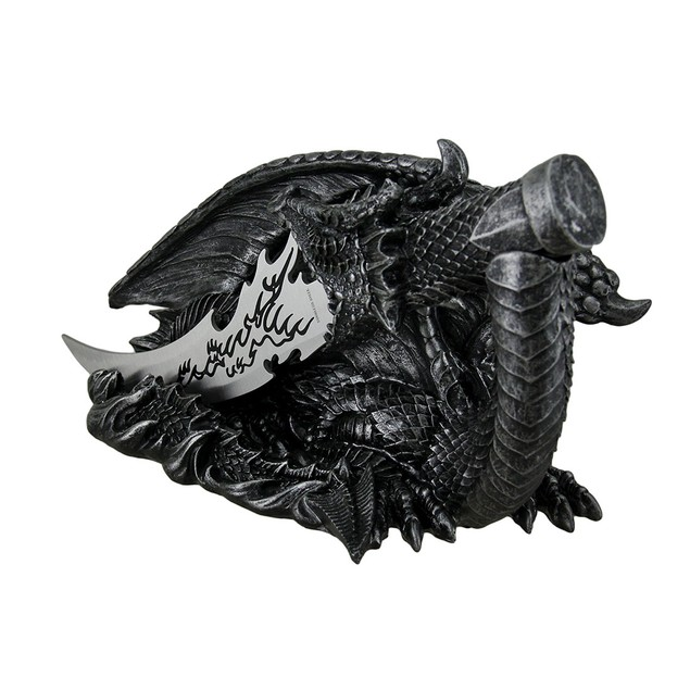 Saurian Athame Decorative Dragon Fantasy Knife Letter Openers