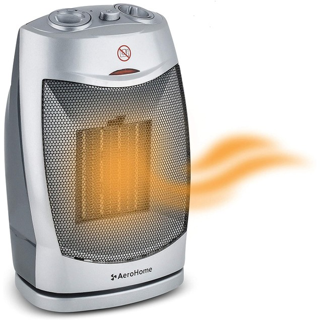 AeroHome Oscillating Electric 1500W/750W Space Heater