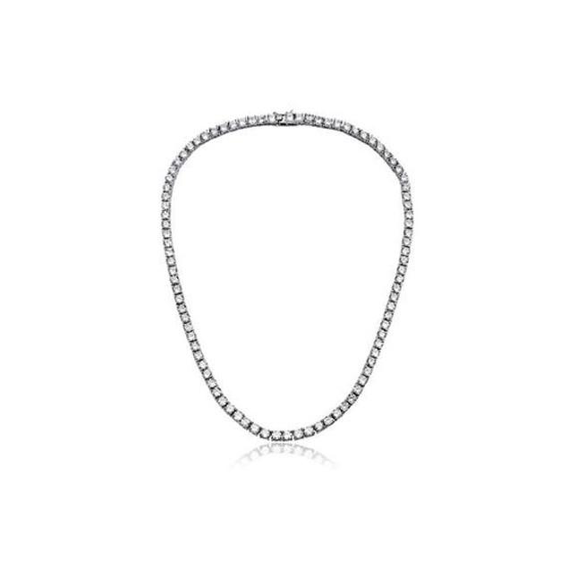 3-Piece Luxury Crystal Set in 18K White Gold