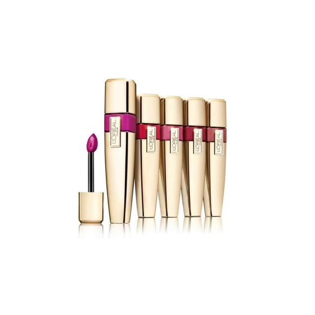 3-Pack Loreal Colour Riche Caresse Wet Shine Lip Stain - Assorted Colors