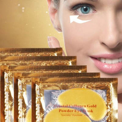 4-Pack Gold Collagen Eye Mask