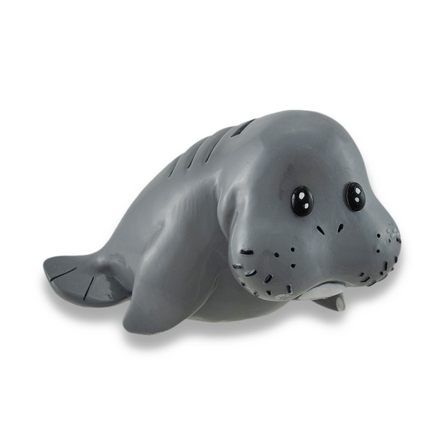 Whimsical Baby Manatee Coin Bank 6.5 In. Toy Banks