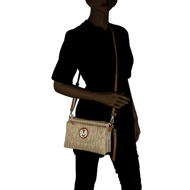 MKF Collection Caprice M Signature Cross-body Bag by Mia K.