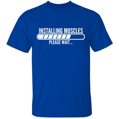 Installing Short Sleeve Crew Neck Graphic Tshirt