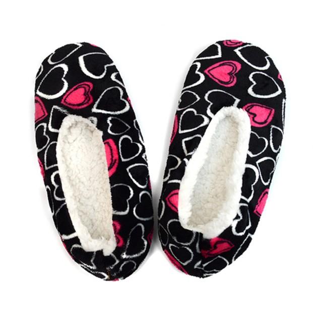 2-Pack Women's Warm & Cozy Indoor Non Slip Grip Slipper