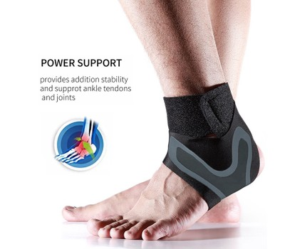 Lightweight Adjustable Ankle Pain Relief Support Brace Wrap Was: $49.99 Now: $11.99.