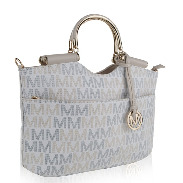 MKF Collection Mayra Milan M Signature handbag by Mia K