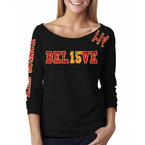 Women's Win or Go Home Football Off The Shoulder Shirts