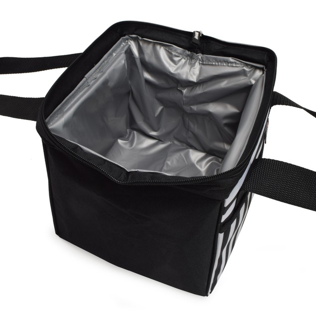 Polar Pack Insulated Trapeze Lunch Tote Bag With Front Pocket