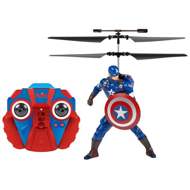 Marvel Comics : Age Of Ultron Captain America 2CH IR RC Helicopter