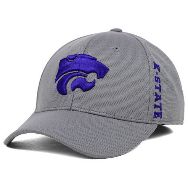 "Kansas State Wildcats NCAA TOW ""Booster"" Memory Fitted Hat"
