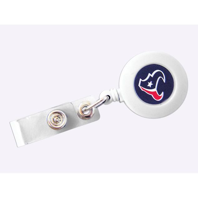 NFL Sports Team Logo Id Ticket Clip Retractable Badge Reel