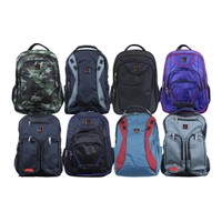 Galaxy By Harvic Pro Series Padded Laptop Backpacks