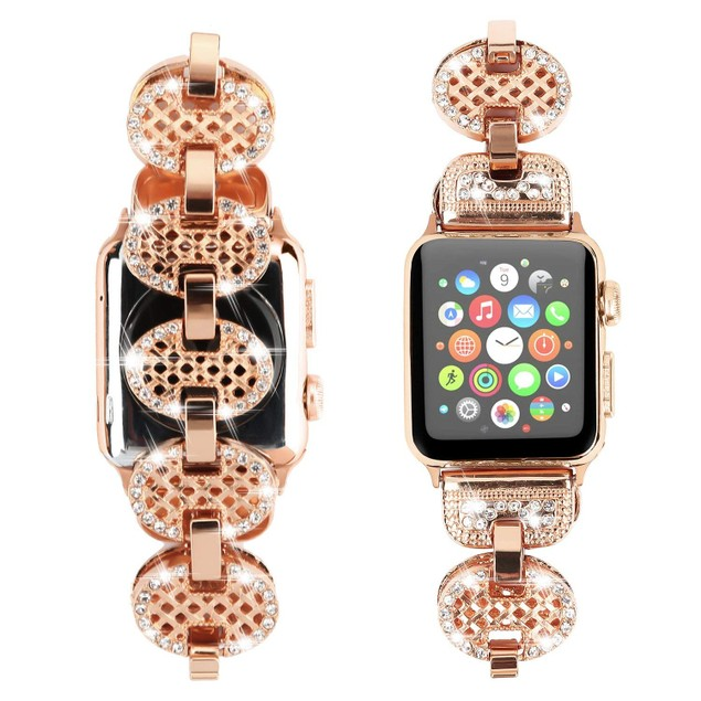 Waloo Bling Rhinestone Apple Watch Band for All Series