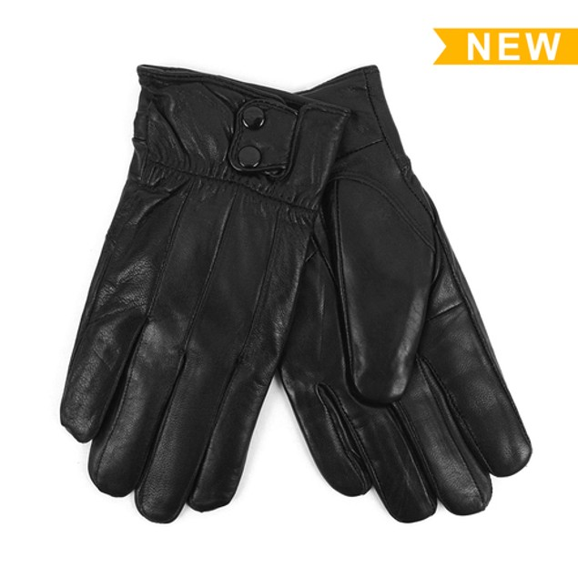 Genuine Leather Mens Winter Gloves