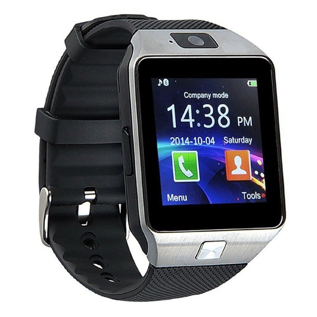 Smart Watch with Camera DZ09 - iOS and Android Devices