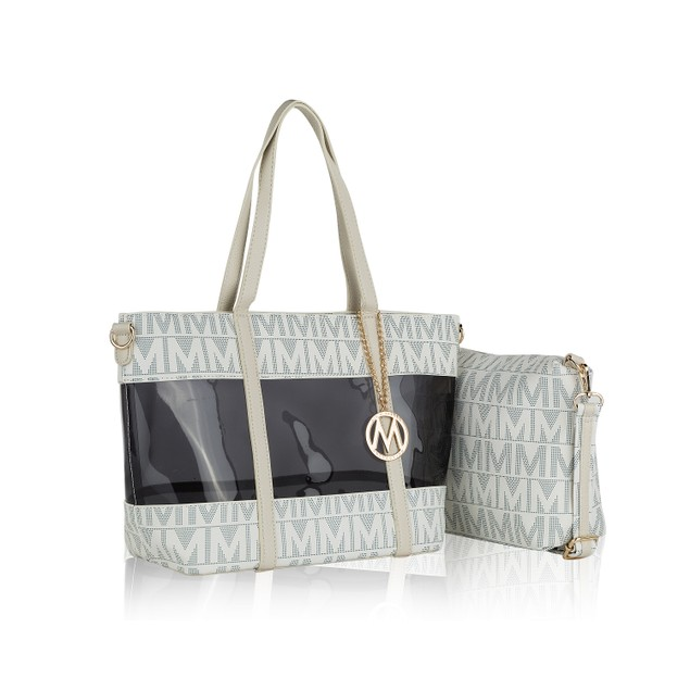 MKF Collection Belinda 2PC Tote with Crossbody Bag by Mia K.