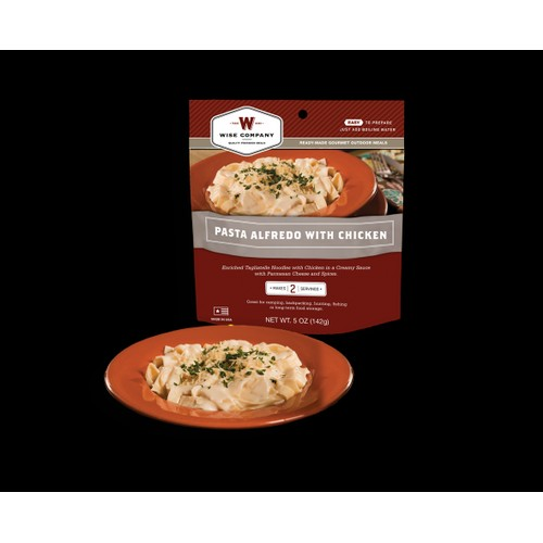 Wise Foods Outdoor Meals - 6-Pack Pasta Alfredo with Chicken