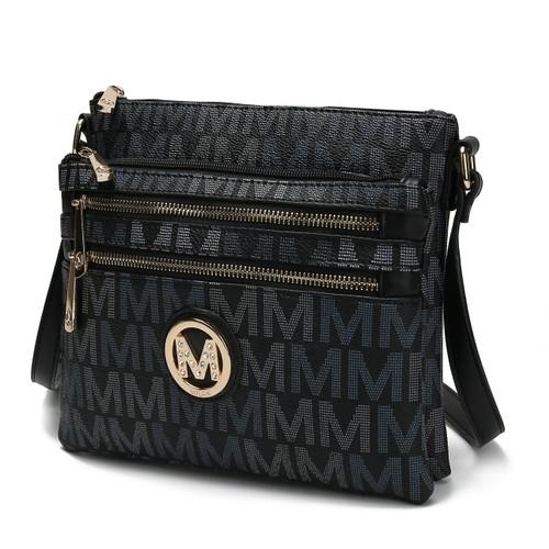 MKF Collection Ellen M Signature Crossbody Bag by Mia K.