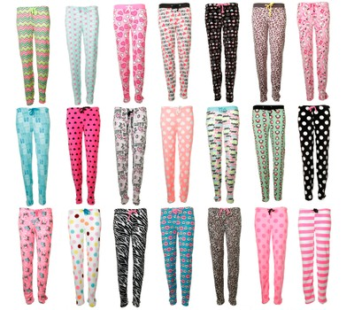 2-Pack Mystery Women's Super Soft Printed Plush Pajama Pants Was: $69.99 Now: $16.99.