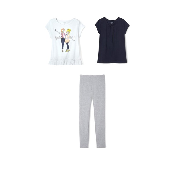 3-Pack French Toast Girls Summer Set - Girl Friends