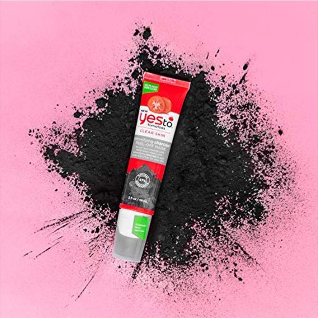 3-Pack Yes To Tomatoes Detoxifying Charcoal Peel Off Face Mask