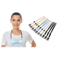 10-Pack Adjustable Mask Loop Extender & Lanyard
