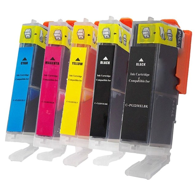 Canon PGI-250xl/CLI-251XL Compatible Ink 5-Pack