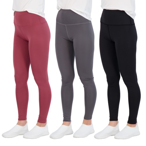 3 Pack: Women's Real Essentials High Waisted Leggings