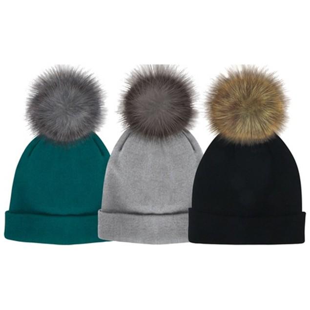 2-Pack Posh Plush Knit Hats