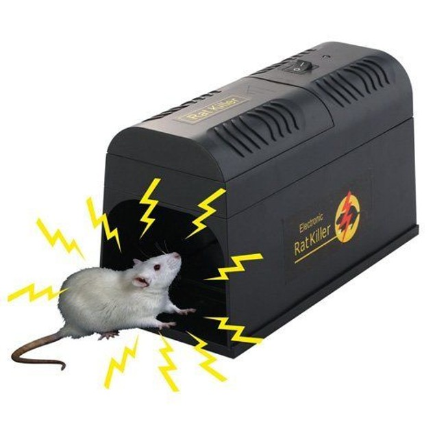 Electronic Rodent Zapper Trap
