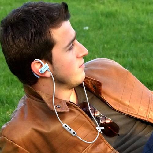 SweatProof Hands-Free Bluetooth Earbuds