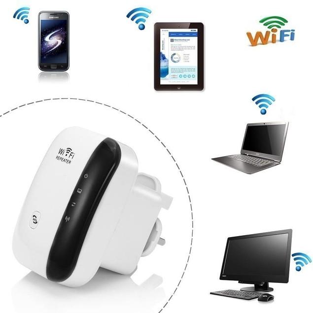 Wi-Fi Repeater Wireless Long Range Extender Amplifier