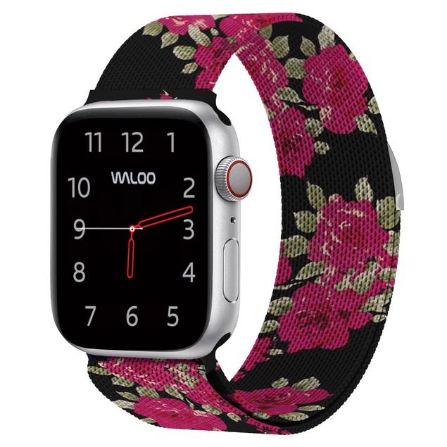 Waloo Milanese Loop Band for Apple Watch Series 1, 2, 3, 4, & 5
