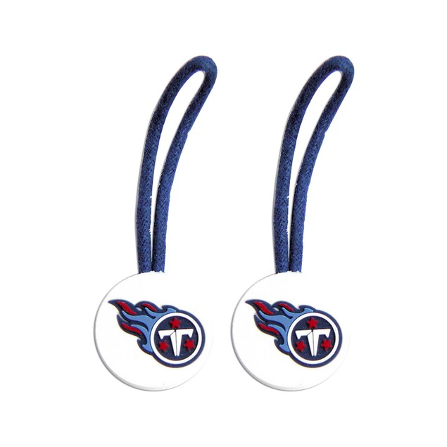 Indianapolis Colts NFL Zipper Pull Pet id Luggage Bag Tag - 2 Pack