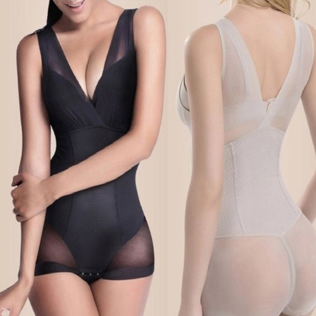 Womens Slimming Compression Bodysuit