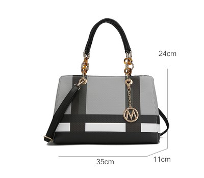 MKF Collection Yassine Satchel Bag by Mia K. Was: $249 Now: $43.99.